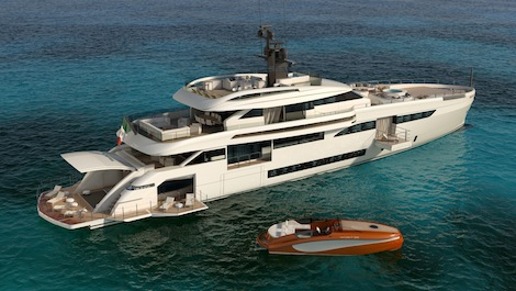 Image for article Wider unveils new 50m project at Miami Yacht Show