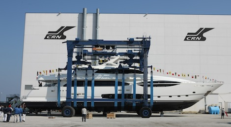 Image for article Custom Line launches fifth Ferretti CL124