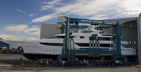 Image for article Westport launches 50m Hull 5012