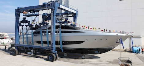 Image for article Riva launches largest superyacht to date
