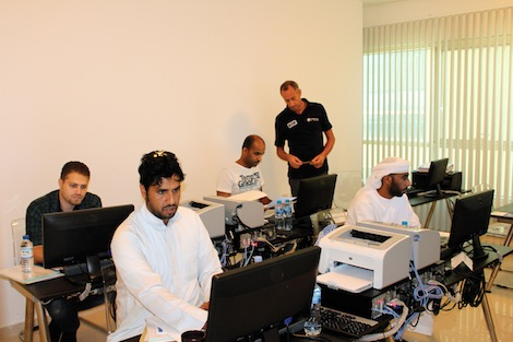 Image for article Imtech opens Sharjah ECDIS centre