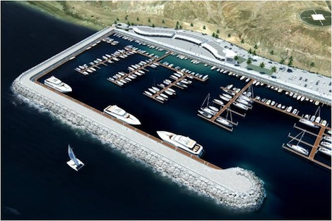 Image for article The Canaries gets another marina