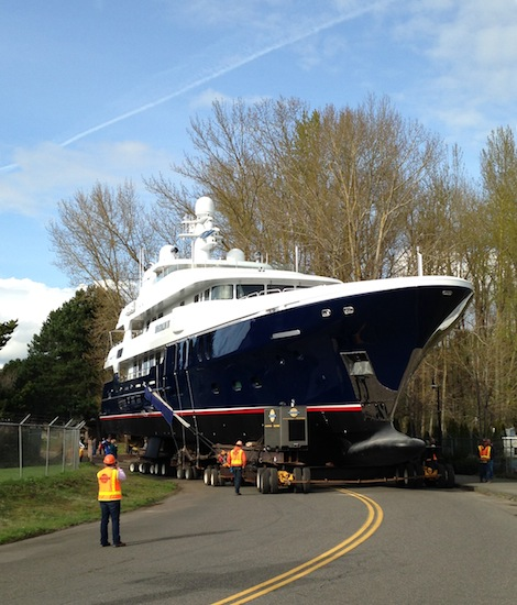 Image for article Christensen Shipyards launch 50m 'D'Natalin IV'