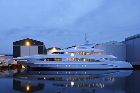 Image for article Heesen Yachts launches 50m 'Monaco Wolf'