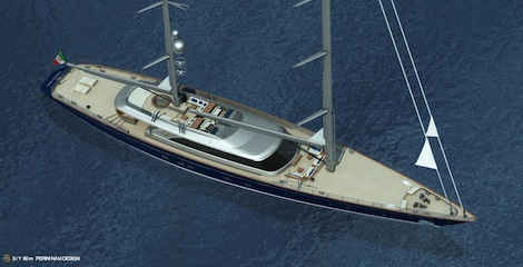 Image for article Perini Navi Group sell 60m C.2232 ketch
