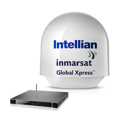 Image for article Intellian launches new Ka-band terminal