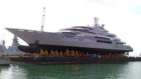Image for article Fincantieri to float?