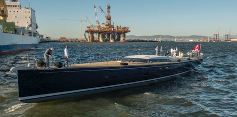 Image for article Southern wind shipyard launch Farfalla