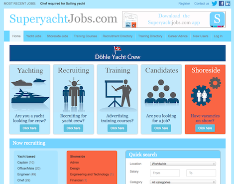 Image for article It's the re-launch you've been waiting for: meet the new SuperyachtJobs.com