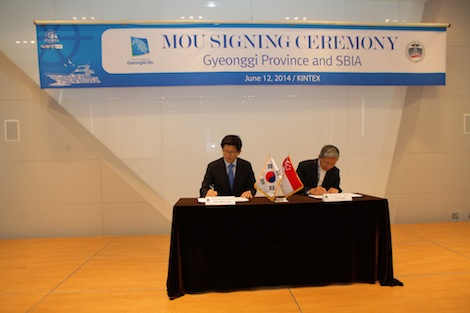 Image for article Singapore Boating Industry Association and Korea's Gyeonggi Province sign MoU