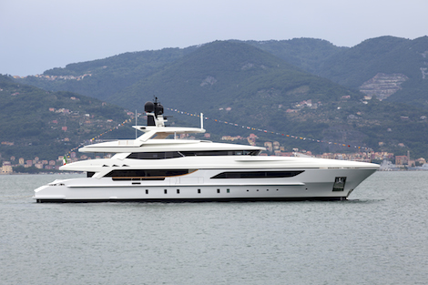 Image for article Baglietto launches 46m superyacht
