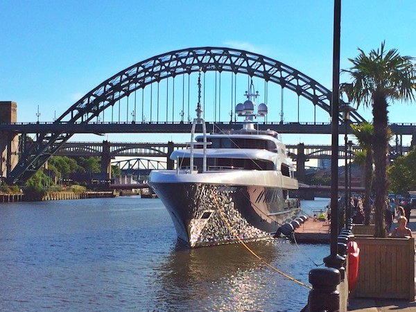 Image for article Superyacht on the geordie shore