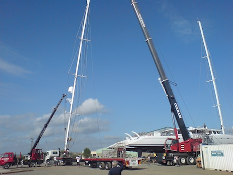 Image for article Hall Spars & Rigging and Oceania Marine establish joint service centre in Whangarei, NZ