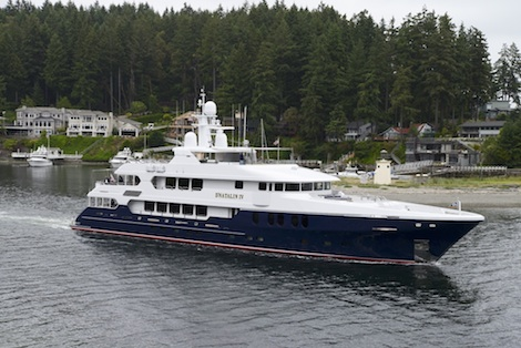 Image for article Christensen christens 'D'Natalin IV' with owner at Gig Harbour