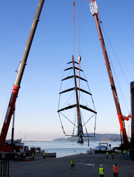 Image for article Perini's latest sloop breaking all sorts of records