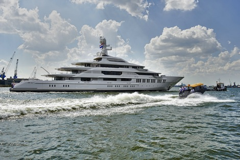 Image for article Oceanco makes first launch of the year with 'Y710'