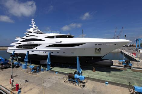 Image for article Benetti launches and delivers 'Illusion I'