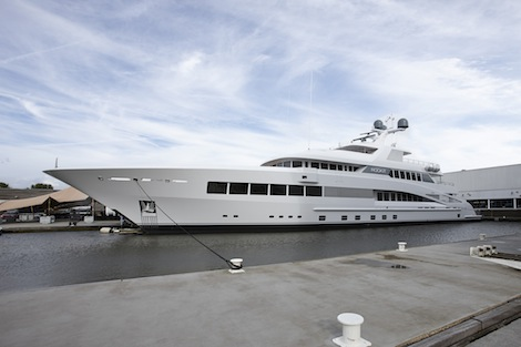 Image for article Feadship launches 60.35m 'Rock.It'