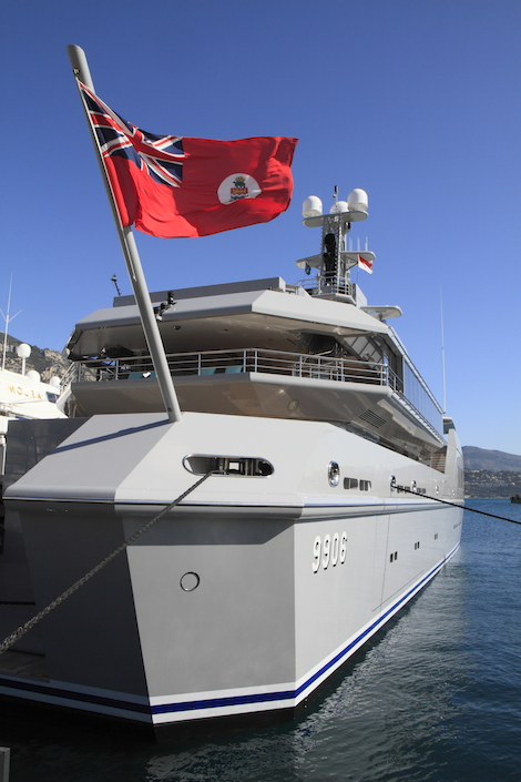 Image for article M/Y 'Skat' begins seven-month refit under Huisfit programme