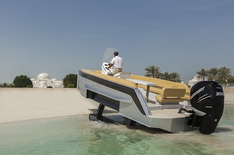 Image for article Iguana Yachts makes amphibious tracks in the Middle East