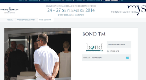 Image for article Bond Technology Mastermind at Monaco Yacht Show
