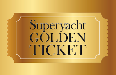 Image for article The return of the Superyacht Golden Ticket