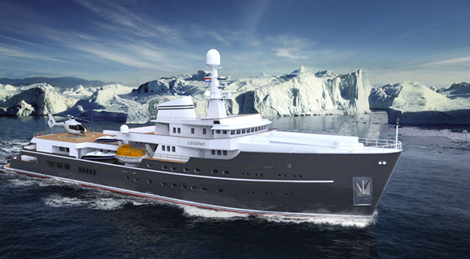 Image for article Icon Yachts wins 73m conversion project