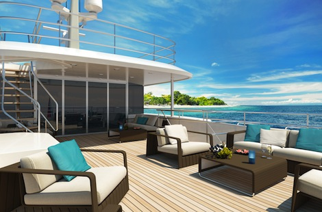 Image for article Moonen cruises the Caribbean