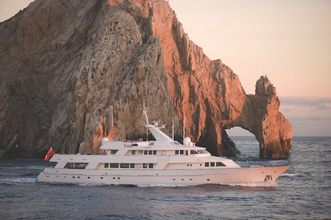 "Image for article ""Lots to play with at MYS this year"" says Mike Newton-Woof of Ventura Yachts"