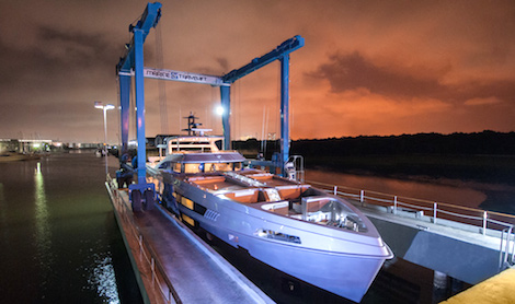 Image for article MCP Yachts' latest vessel undergoes sea trials
