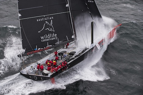 Image for article 'Comanche' sets sail for Sydney