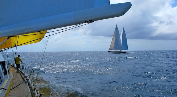 Image for article Chartering for regattas
