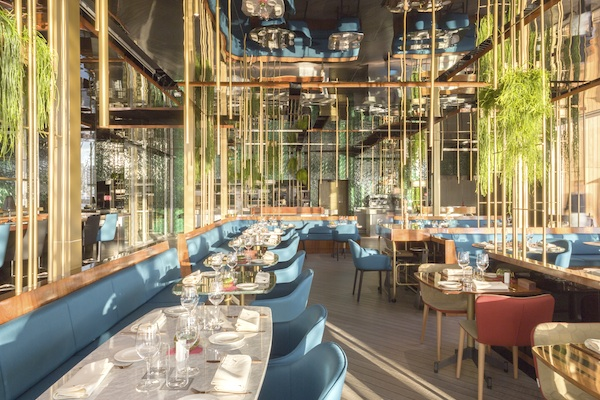 Owner oneocean serving up cuisine for One ocean club barcelona