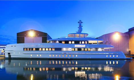 Image for article Heesen launches 50m 'Sibelle'
