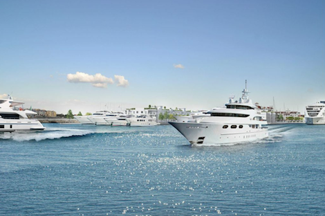 Image for article Gibraltar gears up for a superyacht marina