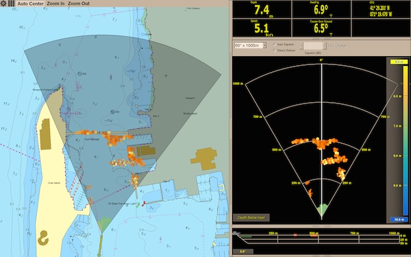 Image for article FarSounder and Jeppesen launch new digital sonar and charting software