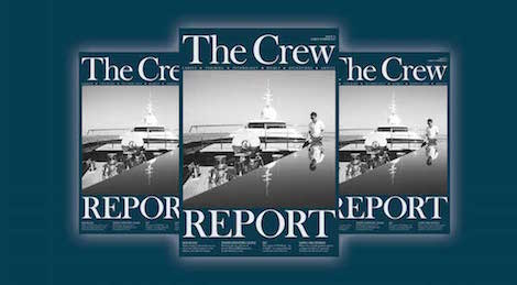 Image for article The Crew Report spring show season issue out now