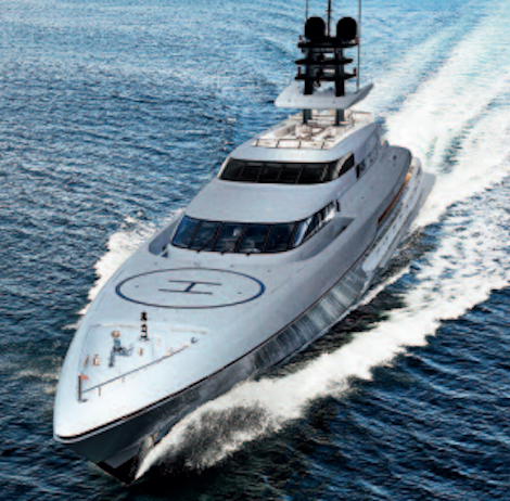 Image for article Silver Yachts' 'Silver Fast'