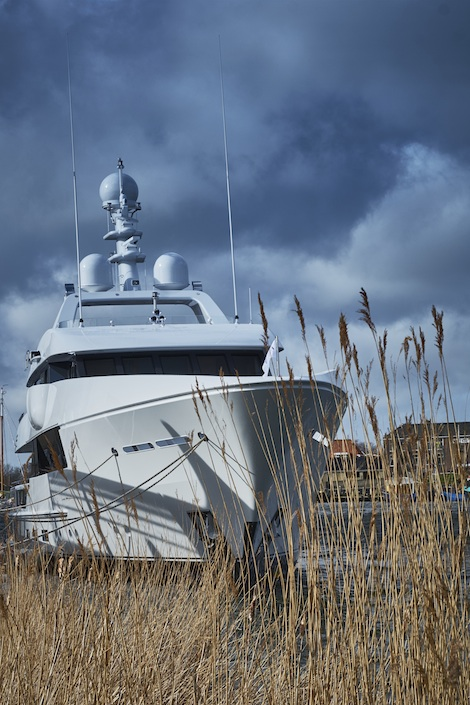 Image for article Feadship launches 44m superyacht 'Moon Sand'