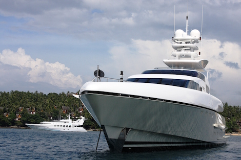 Image for article Thailand government pushes for superyacht tourism