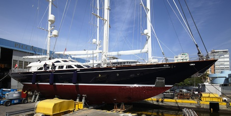 Image for article Perini S/Y 'Ellen' completes her refit