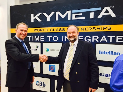 Image for article Kymeta partners with e3 Sytems for flat panel antenna solution