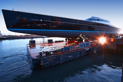 Image for article Oceanco and Vitters Shipyard launch Project 85