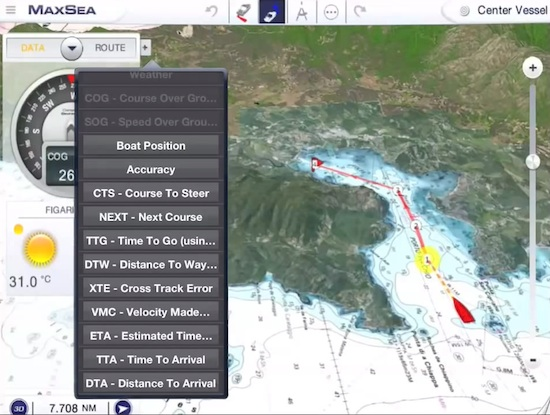 Image for article MaxSea launches version 2.0 of coastal navigation application