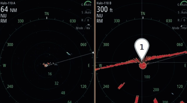 Image for article Simrad launches Halo pulse compression radar