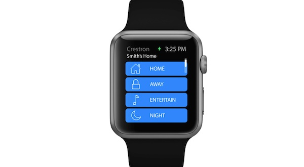 Image for article Apple Watch home automation