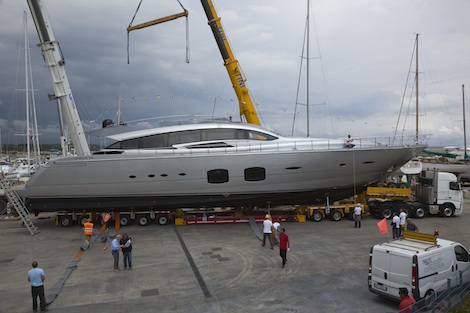 Image for article Pershing launches a third 32.9m project