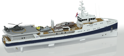 Image for article 69m Damen support vessel sold