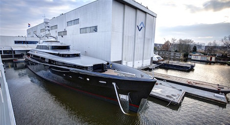 Image for article Feadship's M/Y 'Kiss' listed for sale