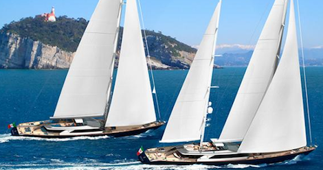 Image for article Perini Navi Group announces sale of third 60m ketch